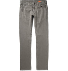 Jean Shop Mick Slim-Fit Selvedge Cotton-Twill Chinos