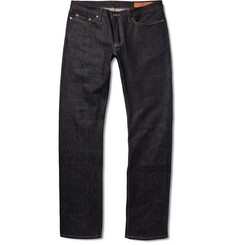 Jean Shop Slim-Fit Raw Selvedge Denim Jeans