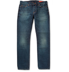 Jean Shop Slim-Fit Three Year Wash Selvedge Jeans