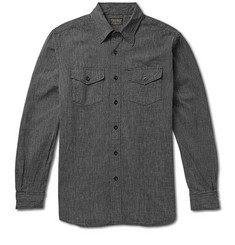 Jean Shop Selvedge Chambray Workshirt