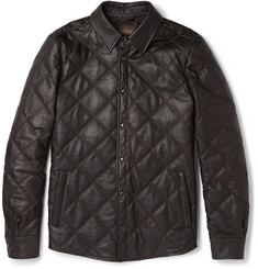 Tod's Quilted Leather Jacket
