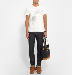 Visvim Printed Cotton T-Shirt