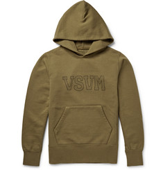 Visvim Printed Loopback Cotton-Blend Jersey Hoodie