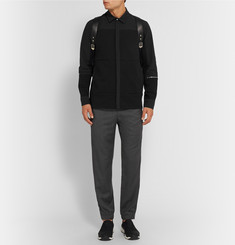 Tim Coppens Slim-Fit Zip-Detailed Woven Wool Sweatpants