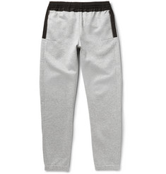 Tim Coppens Slim-Fit Panelled Cotton-Blend Jersey Sweatpants