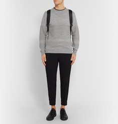 Tim Coppens Panelled-Knit Merino Wool Sweater