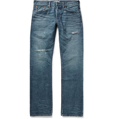 Ron Herman Distressed Selvedge Denim Jeans