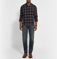 Simon Miller Bexar Checked Wool Shirt