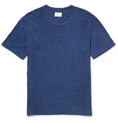 Simon Miller Garçon Slub Cotton and Silk-Blend Jersey T-Shirt