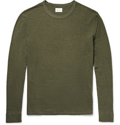 Simon Miller Tulare Slub Cotton and Silk-Blend Jersey T-Shirt