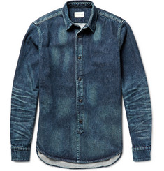 Simon Miller Platte Washed-Denim Shirt
