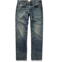 Simon Miller M002 Park View Slim-Fit Selvedge Denim Jeans