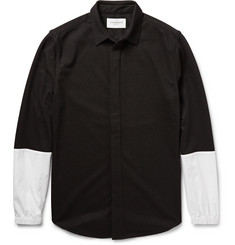 Public School Two-Tone Panelled Jersey Shirt