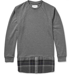 Public School Shirttail-Hem Jersey Sweatshirt