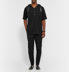 Public School Zipped-Cuff Tapered Cotton-Blend Twill Trousers