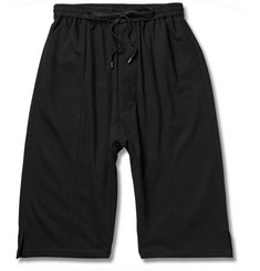 Public School Drop-Crotch Ponte Shorts