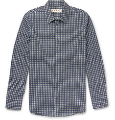Marni Checked Cotton Shirt