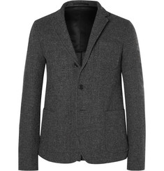 Marni Slim-Fit Herringbone Wool Blazer