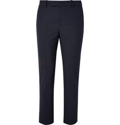 Marni Slim-Fit Cropped Wool Trousers