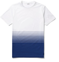 Loewe Dégradé-Striped Cotton-Jersey T-Shirt