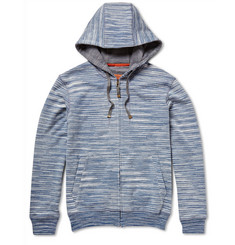 Missoni Space-Dyed Loopback Cotton-Jersey Hoodie