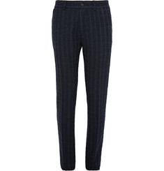 Missoni Slim-Fit Checked Wool-Blend Bouclé Trousers