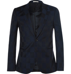 Paul Smith Bauhaus Slim-Fit Checked Wool Suit Jacket