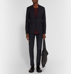 Paul Smith Bauhaus Slim-Fit Checked Wool Trousers