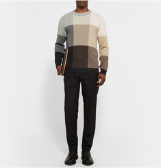 Paul Smith Colour-Block Lambswool Sweater