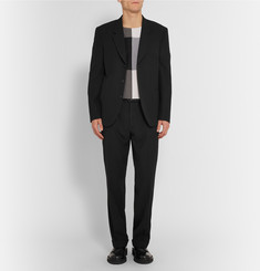 Paul Smith Black Slim-Fit Wool and Cotton-Blend Twill Suit Jacket