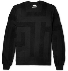 Paul Smith Contrast-Knit Merino Wool Sweater