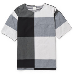 Paul Smith Checked Cotton-Jersey T-Shirt