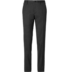Boglioli Striped Cotton-Blend Trousers