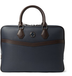 Dunhill Chassis Textured-Leather Briefcase