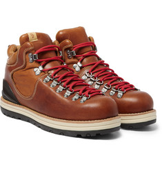 Visvim Serra Leather Hiking Boots