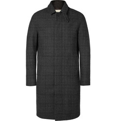 Mackintosh Prince of Wales Check Overcoat