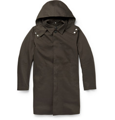 Mackintosh Bonded-Cotton Hooded Raincoat