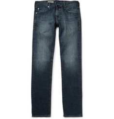 AG Jeans Matchbox Slim-Fit Washed-Denim Jeans
