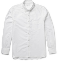 Ovadia & Sons Button-Down Collar Cotton Oxford Shirt