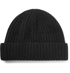 Ovadia & Sons Ribbed Cashmere Beanie