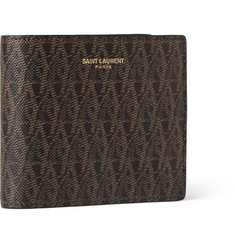 Saint Laurent Monogrammed Leather Billfold Wallet