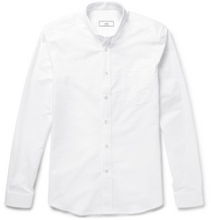 AMI Slim-Fit Cotton Oxford Shirt