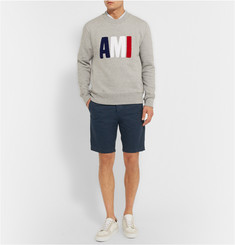 AMI Slim-fit Cotton Bermuda Shorts