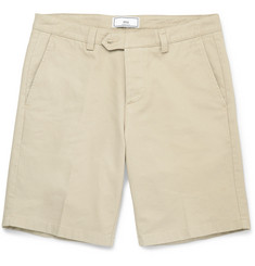 AMI Cotton-Twill Chino Shorts