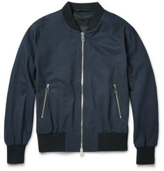 AMI - Cotton-Twill Bomber Jacket
