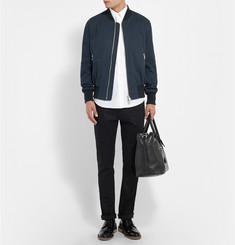 AMI Cotton-Twill Bomber Jacket