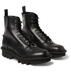 Neil Barrett Leather Lace-Up Boots