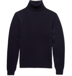 AMI Merino Wool Turtleneck Sweater