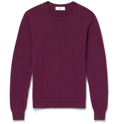 AMI Crew-Neck Wool Sweater