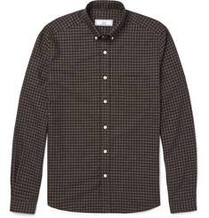 AMI Checked Cotton Shirt